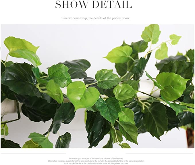 Plantas Artificiales Artificial Flower Vine 5.91ft, Flores Falsas ...