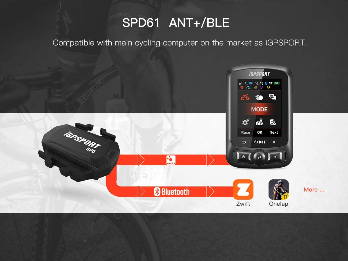 IGPSPORT Bike Speed and Best cadence sensor for cycling