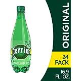 Perrier 起泡矿泉水,16.9盎司(500ml)(24瓶)