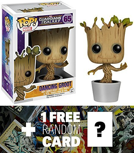 Amazon.com: Dancing Groot: Funko POP. x Guardianes de la ...