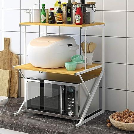Estanterías para horno microondas Nivel 3 Microondas Horno ...