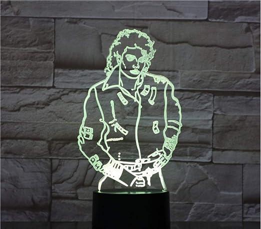 Michael Styling colores con Jackson de mesa Lámpara 7 80wvmNnO