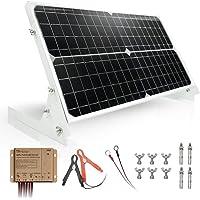 TP-solar Kit de panel solar de 30 W y 12 V, cargador de batería, controlador de carga solar a prueba de agua de 10 A…