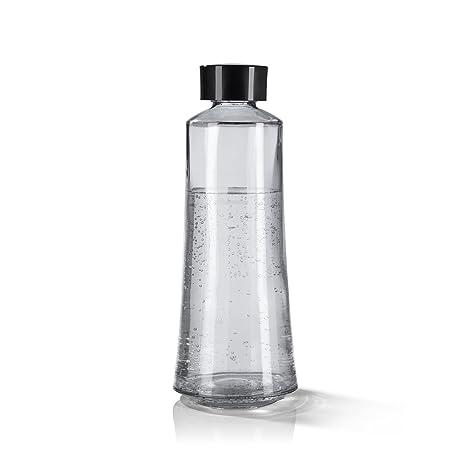 SodaStream Trend 06279 Soda Deluxe, incluye botella de vidrio negro 720 ml y CO2 Cilindro 60L | dispensador de agua para de agua de burbujas | Soda ...