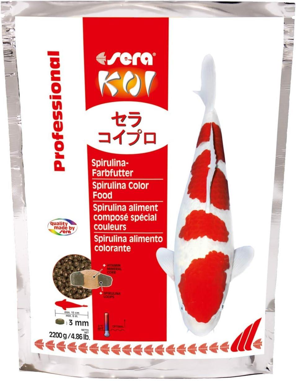Sera 7033 KOI Professional Spirulina Color 4.86 lb 2.200g Pet Food, One Size