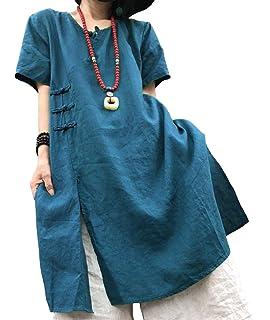 ce2f2cc726 YESNO QR5 Women Shirts Blouse Crop Tops Polka Dots Mandarin Collar A Skirt  Hi-Low