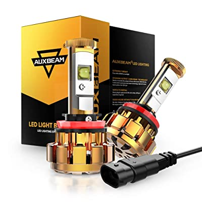 Auxbeam H11 LED Headlight Bulb F-16 Series