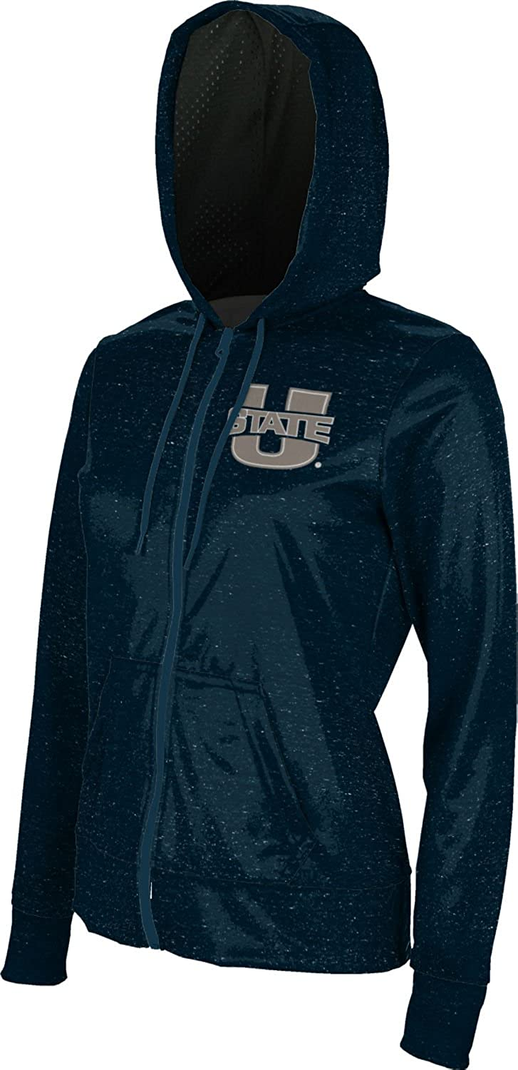 ProSphere Utah State University Girls Zipper Hoodie School Spirit Sweatshirt Heathered