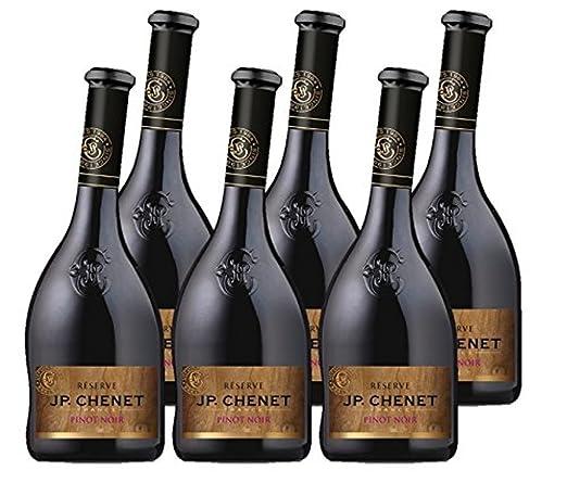 JP Chenet Vino Tinto - Pack de 6 Botellas de 0.75 l - Total: 4.5