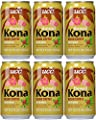 UCC Hawaii Kona Blend Coffee with Milk, 11.3-Ounce Cans, Japanese Cold Coffee, Brewed Coffee in a Can (6PK)