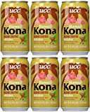 kona iced coffee - UCC Hawaii Kona Blend Coffee with Milk, 11.3-Ounce Cans, Japanese Cold Coffee, Brewed Coffee in a Can (6PK)