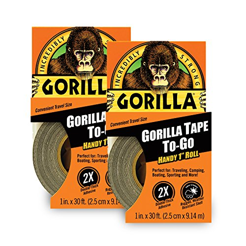Gorilla 6100116 Duct Tape To-Go (2 Pack), 1