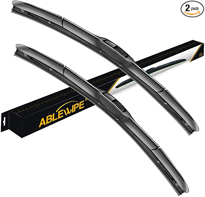 """ABLEWIPE Front Rear  Beam Wiper Blades Fit For TOYOTA SIENNA 1998-2003 24/""""18/""""17/"""""""