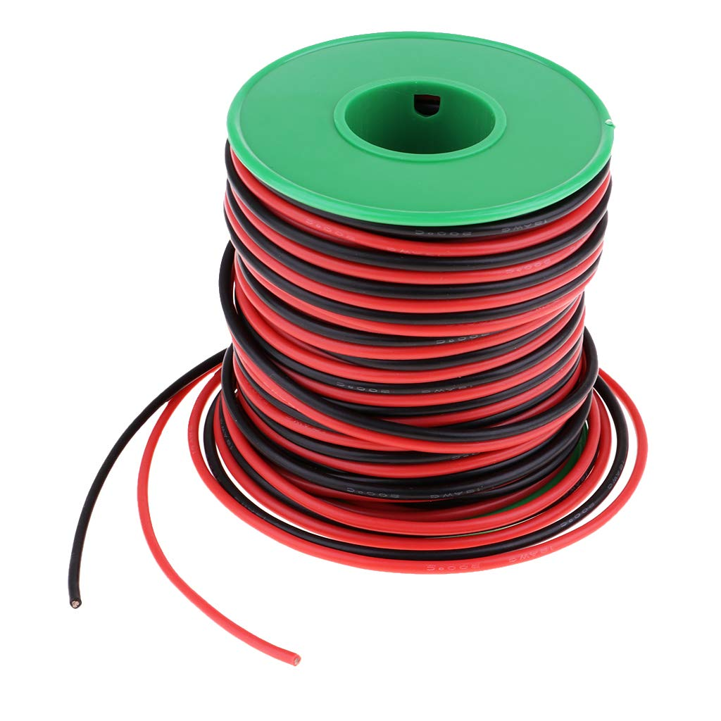 22AWG 131Feet Soft Silicone Insulation Wire Tinned Copper Core Electric Lead