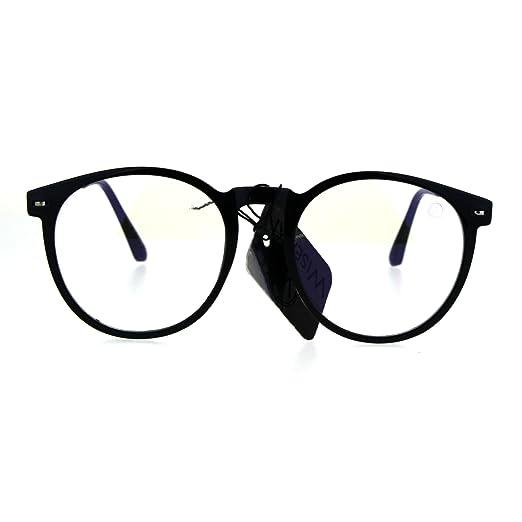 19020101a3 Amazon.com  Round Circle Lens Keyhole Horned Thin Plastic Eye ...