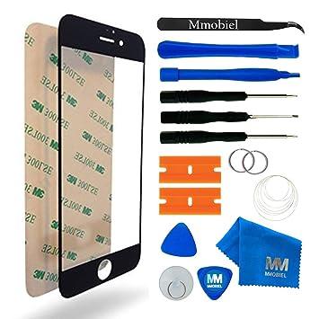3bb593e66b9 MMOBIEL Kit de Reemplazo de Pantalla Táctil para iPhone 7 Plus Series  (Negro) Incluye