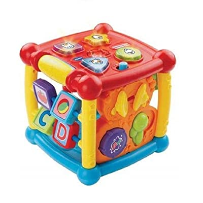 VTech Busy Learners Activity Cube WLM: Home & Kitchen