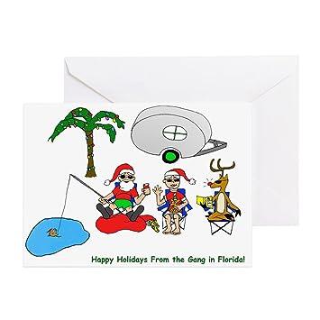 cf5d9c7419c16 CafePress - Funny Florida Holiday Christmas Greeting Cards (Pk - Greeting  Card (20-pack)