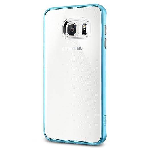35 opinioni per Spigen SGP11718 Neo Hybrid Crystal Custodia per Samsung Galaxy S6 Edge+, Blu