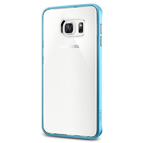 premium selection 9d21d 4d0a8 Spigen Neo Hybrid Crystal Galaxy S6 Edge Plus Case with Flexible Inner  Casing and Reinforced Hard Bumper Frame for Galaxy S6 Edge Plus 2015 - Blue  ...