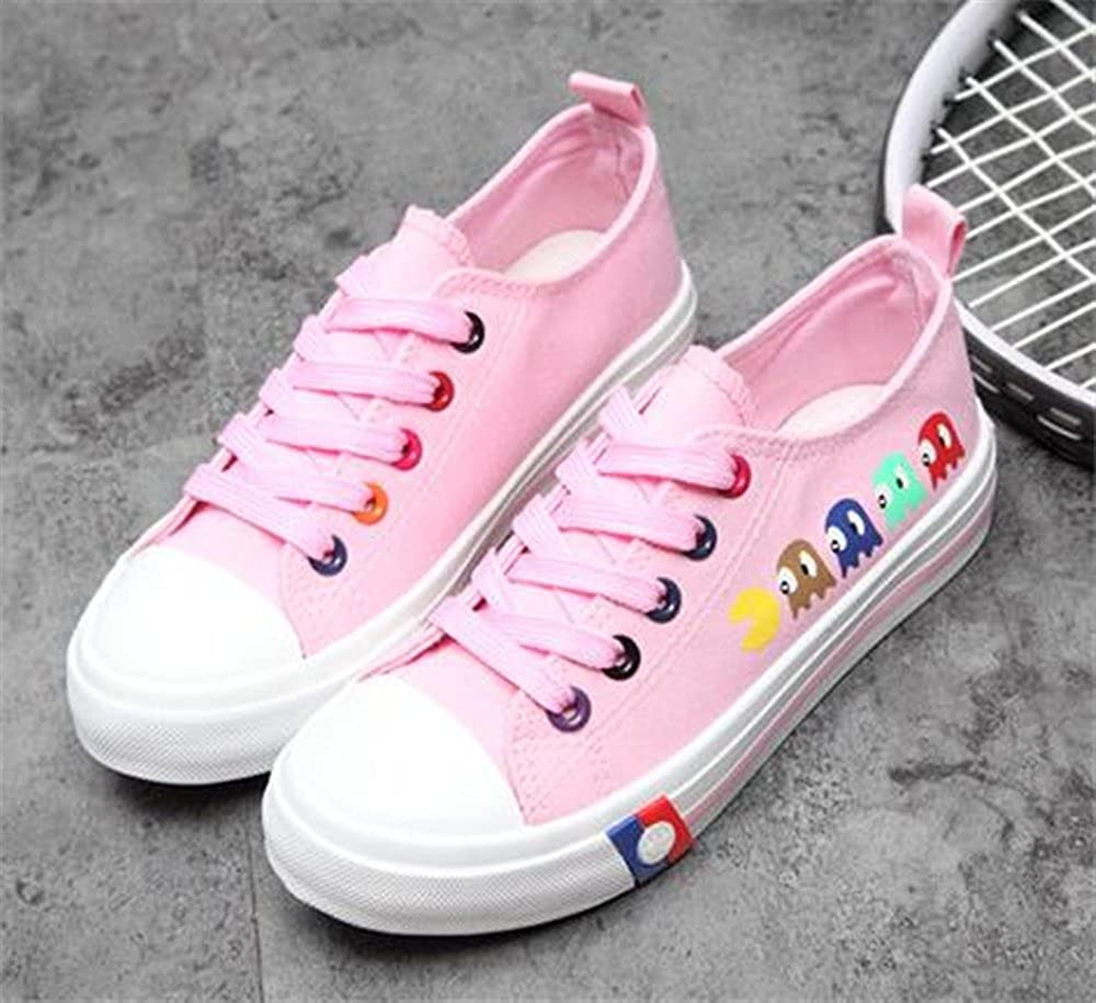 Girls Low Top Classic Canvas Fashion Sneaker Basketball Tennis Athletic