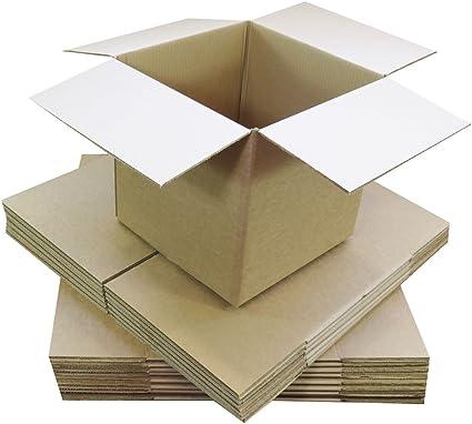 triplast tplbx100singl6 X 6 X 6 152 x 152 x 152 mm, pequeñas, pared envío correo POSTAL regalo cubo caja de cartón: Amazon.es: Oficina y papelería