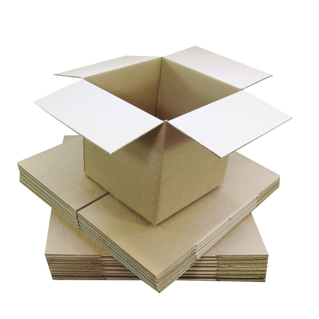 Triplast 229 x 152 x 152mm Small Single Wall 9x6x6 Shipping Mailing Postal Gift Cuboid Cardboard Boxes Pack of 50