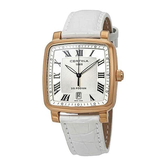 CERTINA DS Podium Reloj DE Hombre Cuarzo Correa DE Cuero C025.510.36.033.00: Amazon.es: Relojes