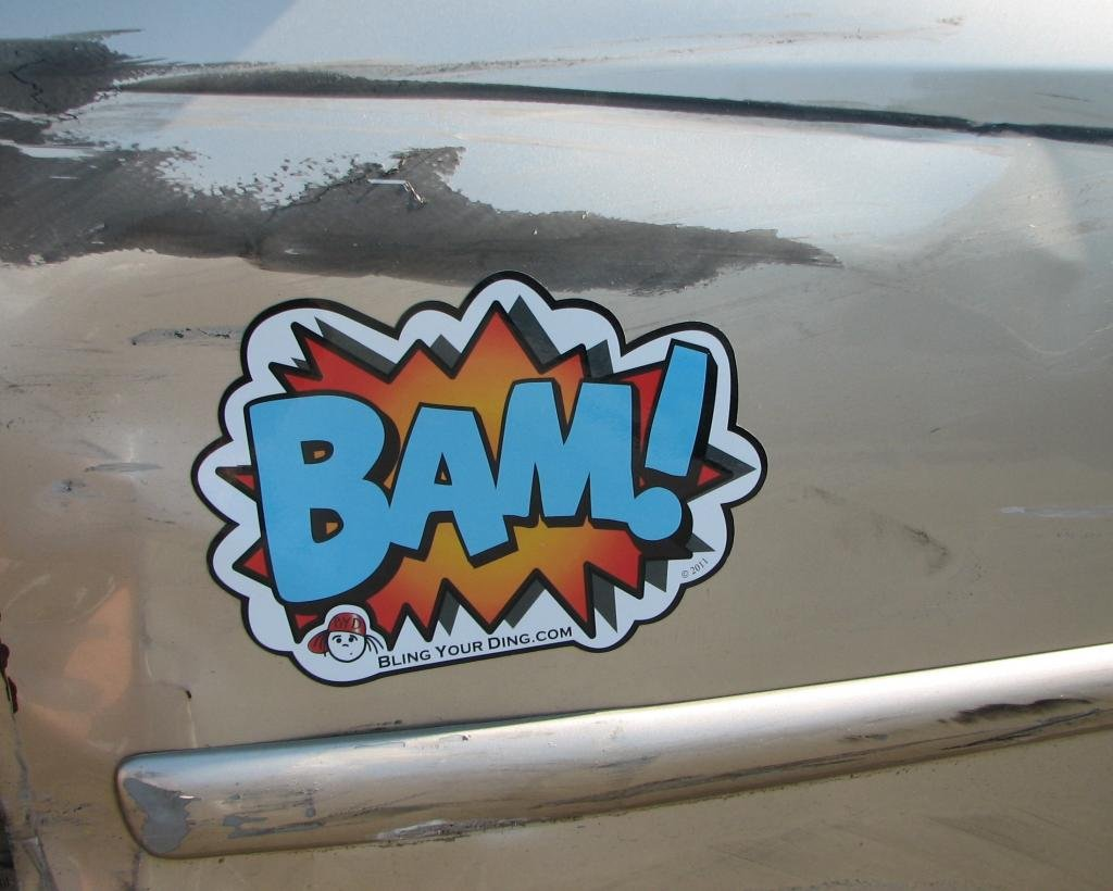 Magnet - Bam Bling Your Ding Inc