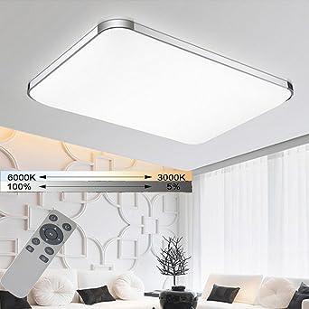 WYBAN LED Dimmbar Deckenleuchten Panel Energiespar Wandlampe Leuchte ...