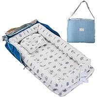 TEALP Tumbona para bebé con Almohadas, Nido Transpirable