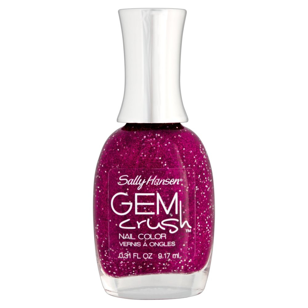 Amazon.com : Sally Hansen Gem Crush - Lady Luck : Nail Polish : Beauty
