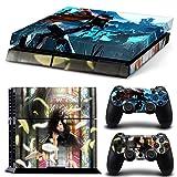 EBTY-Dreams Inc. - Sony Playstation 4 (PS4) - Final Fantasy 7 VII FF7 FFVII Tifa Lockhart Vincent Valentine Vinyl Skin Sticker Decal Protector