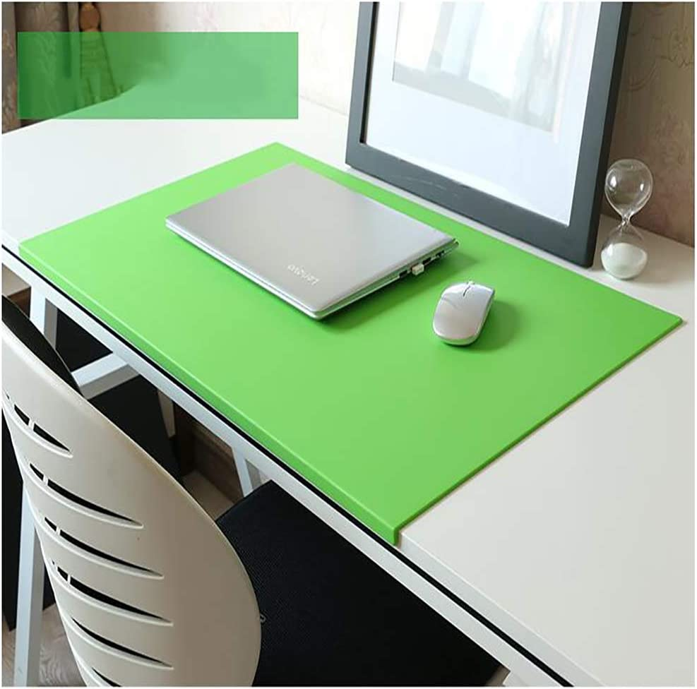 GGYDD Waterproof Leather Mouse Pad,Large Office Writing Desk Pad Not-Slip Base Keyboard Mouse Mat for Computer Laptop-d 600x350mm