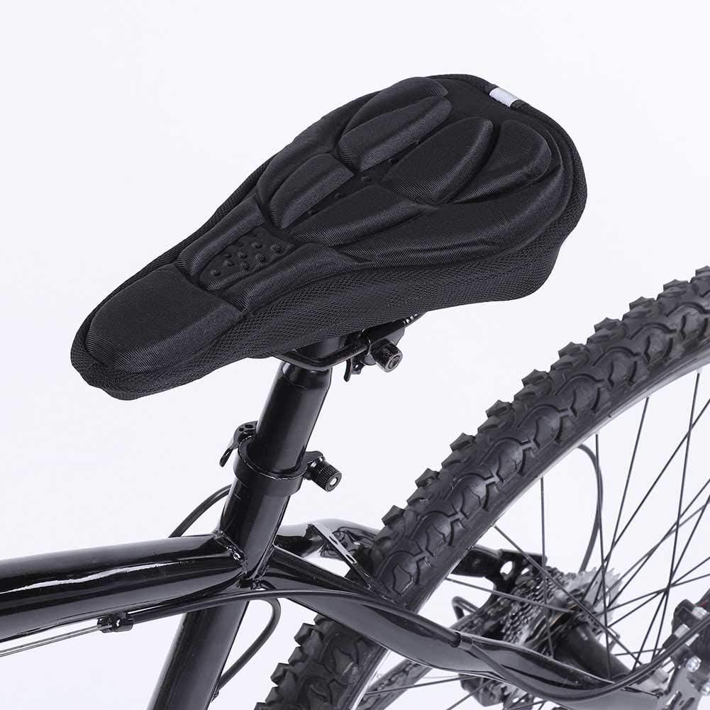 VGEBY1 Funda de sill/ín de Bicicleta Almohadilla de Asiento de Bicicleta de Espuma Funda de coj/ín de sill/ín de Bicicleta para Bicicleta de Carretera de monta/ña