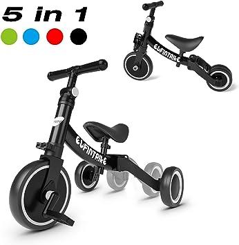 besrey Triciclos para Niños 5 en 1 Triciclos Bebes Triciclos ...