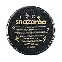 Snazaroo Individual Color Face Paint, 18ml, Electric Black Metallic