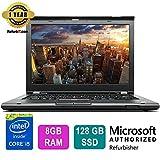 "Lenovo ThinkPad T430s Laptop,Intel Core i5,14""Display,8GB RAM,128GB SSD,French"