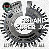 for ROLAND SUPER JX-JX10P Large Original Factory and NEW created Sound Library & Editors on CD or download