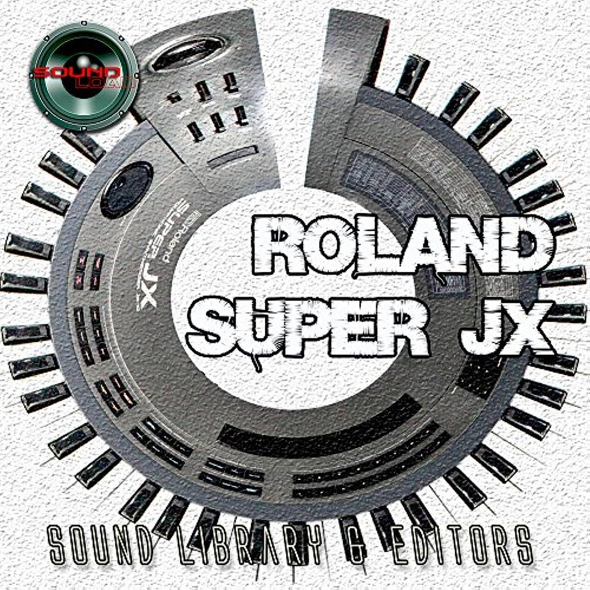 [해외] ROLAND SUPER JX-JX10P HUGE ORIGINAL FACTORY AND NEW CREATED SOUND LIBRARY & EDITORS ON CD