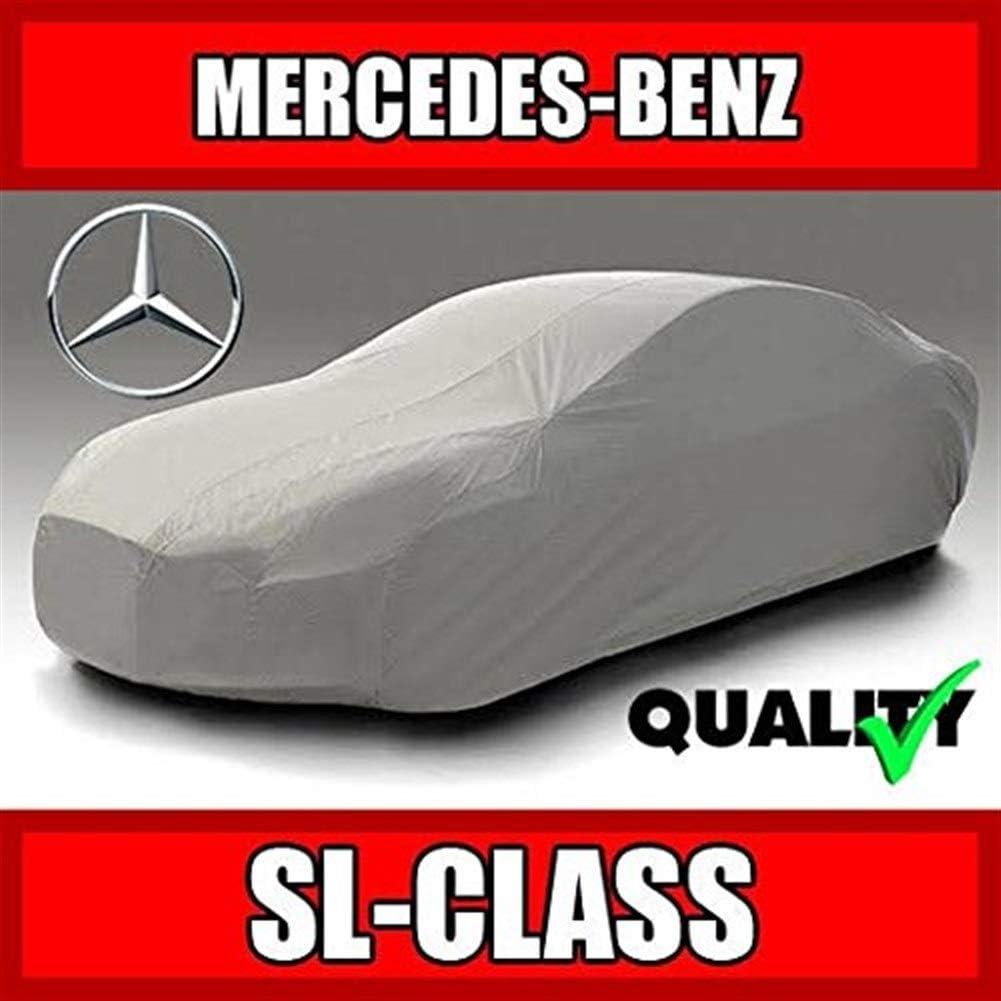 SL55 2003 2004 2005 2006 2007 2008 2009 2010 2011 2012 2013 ultimo Impermeabile Custom-Fit Copertura dellautomobile SL550 SL500 Zfggd Mercedes SL SL600