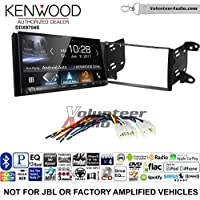 Volunteer Audio Kenwood DDX9704S Double Din Radio Install Kit with Apple Carplay Android Auto Fits 2011-2013 Non Amplified Toyota Matrix