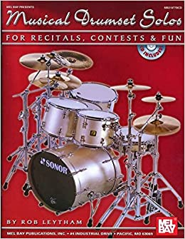 Book Musical Drumset Solos for Recitals, Contests and Fun
