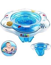DAYPICKER Anillo de natación para bebé, Anillo de Asiento de Asiento Flotante para niños pequeños