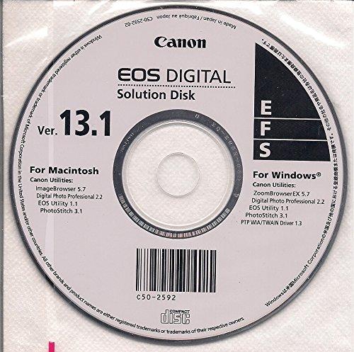- Canon EOS Digital Solution Disk Ver. 13.1