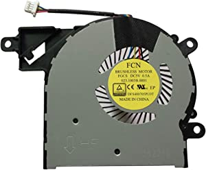 New Laptop CPU Cooling Fan for HP Pavilion x360 13-S 13-S000 13-S100 13-S020CA 13-S123CA 13-S121CA13-S123CL 13-S020NR 13-S120NR 13-S179NR 13-S192NR 13-S195NR 13T-S000 13T-S100, P/N: 809825-001
