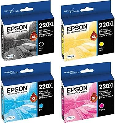 Epson 220 x l Negro/Color Combo 4 Unidades T220 X L120 ...