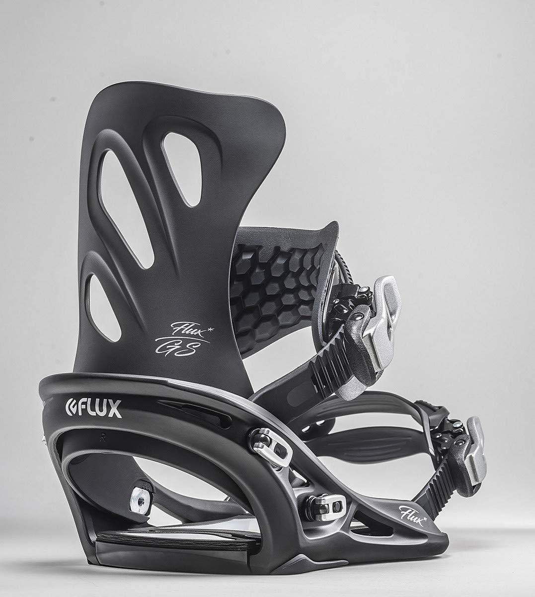 Womens 2020 FLUX GS Snowboard Binding Black, SmallMedium