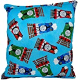 "Thomas The Tank Engine Pillow Thomas The Train Pillow Thomas And Friends Pillow HANDMADE In USA NEW Pillow is approximately 10"" X 11"