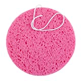 Extra Large High Quality Round Facial Skin Cleaning / Face Pores Cleansing Sponge / Exfoliator In Pink Colour By VAGA